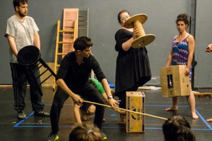 Atelier théâtre, animation pour adultes.