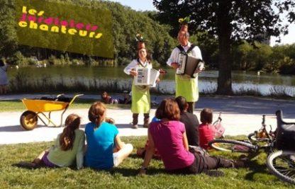 Jardiniers chanteurs, comédie nature, animation pour vos évènements