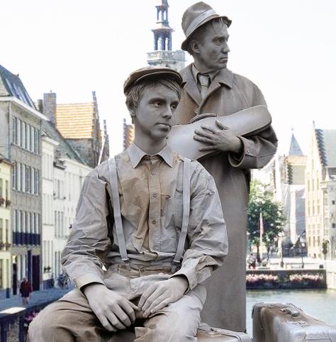 Animation statues vivantes pour vos évènements