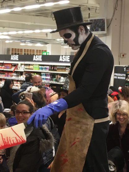 Halloween, animations effrayantes pour vos évènements.