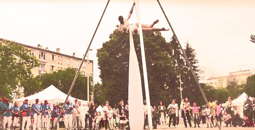 Cirque aérien de rue, une animation pour vos évènements